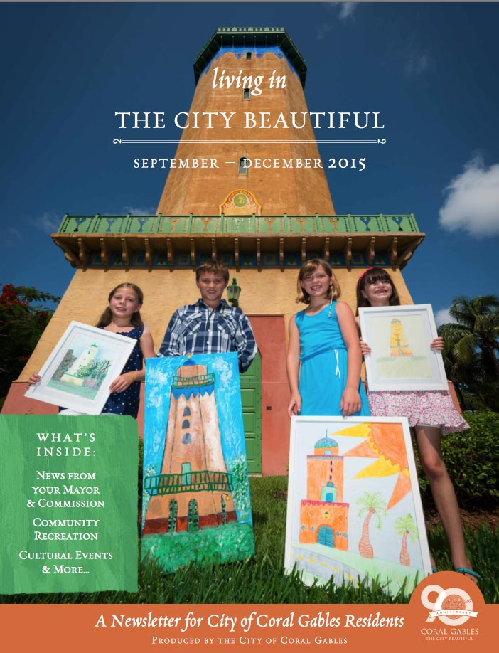 Florida Art Contest, Water Tower City of Coral Gables Water Tower City of Coral Gables, Florida